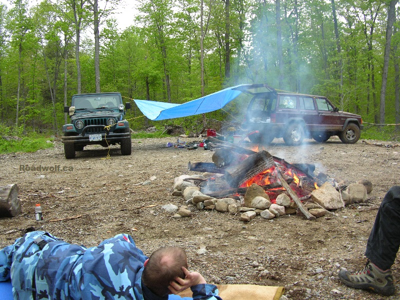 Camping in Algonquin